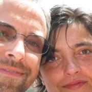 Emanuela con il marito Emanuele