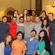 Gli attori della prima realizzazione di The Mark Drama in Italia