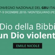 Banner Convegno Nazionale GBU 2018