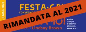 FESTA2020 RIMANDATA al 2021