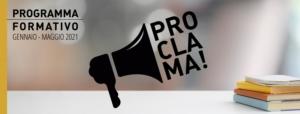 PROCLAMA 2021 Programma Formativo